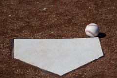 Uczciwej piłki bielu baseball Zdjęcie Stock