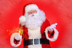 Uczciwy Santa Fotografia Stock