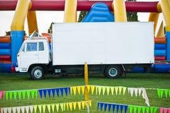 uczciwy zabawy ciężarówki biel Obraz Stock