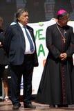 Uczczenie generał Carlo Alberto Dalla Chiesa, Palermo obraz royalty free