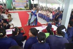 Uczczenie Kartini dzień w Bulu Semarang kobiet ` s więzieniu Fotografia Stock