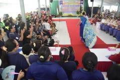 Uczczenie Kartini dzień w Bulu Semarang kobiet ` s więzieniu Zdjęcie Royalty Free