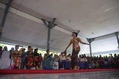 Uczczenie Kartini dzień w Bulu Semarang kobiet ` s więzieniu Obraz Royalty Free