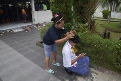 Uczczenie Kartini dzień w Bulu Semarang kobiet ` s więzieniu Obraz Stock