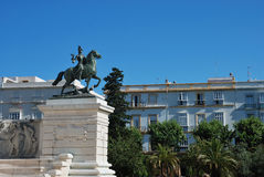 Uczczenie pierwszy Hiszpańska konstytucja Zdjęcia Stock