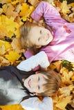 Uczeń, mała dziewczynka i zdjęcie royalty free