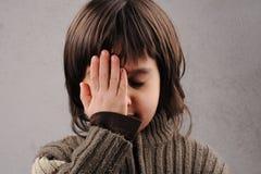 Uczeń, serie dzieciaka mądry lat 6-7 Zdjęcie Stock