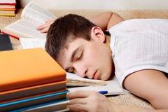 uczeń zmęczony Obraz Stock
