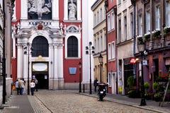 Uczelniana bazylika w Poznańskim Zdjęcie Royalty Free