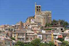 Uczelniany kościół Sant Pere w Ager Zdjęcie Stock