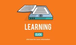 Uczenie edukaci ulepszenia wglądu nauki pojęcie ilustracja wektor