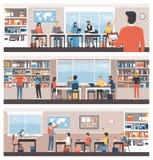 Uczenie I edukacja royalty ilustracja
