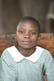 Uczennica w Uganda Zdjęcia Royalty Free