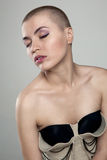 uczesanie piękna krańcowa kobieta zdjęcie royalty free