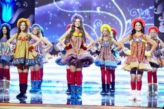 Uczestnicy finał 17th Krajowy festiwal talenty Fotografia Royalty Free