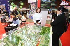 Uczestnicy i goście otwarty real nieruchomości konwersatorium projekt budowy mieszkań Zdjęcia Stock
