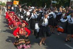 Uczestnicy przy Karneval dera Kulturen obrazy stock