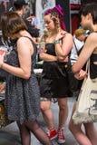 Uczestnicy przy 10 th tatuażu Międzynarodową konwencją w expo centrum Zdjęcie Royalty Free