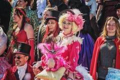 Uczestnicy w elf fantazi jarmarku Obraz Stock