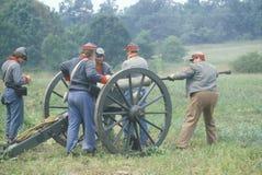 Uczestników konfederacyjni żołnierze Obrazy Stock