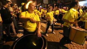 Uczestnika Sao Joao festiwalu narodziny StJohn Baptystyczny Bardzo popularny wakacje zbiory wideo