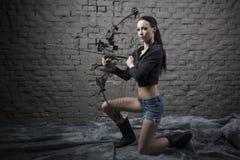 Łucznicza dziewczyna Fotografia Stock