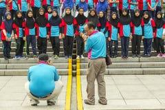Ucznie w Kuala Lumpur Fotografia Royalty Free