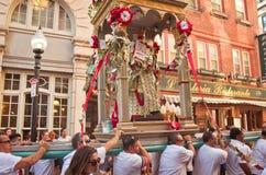Uczta na cześć świętego Agrippina w Boston, Usa Obraz Royalty Free