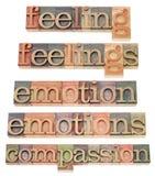 Uczucia i emothions fotografia stock