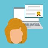 Uczyć się graficznego projekt, wektorowa ilustracja Obraz Royalty Free