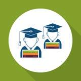 Uczyć się graficznego projekt, wektorowa ilustracja Fotografia Stock