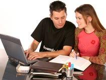 uczyć się razem Fotografia Stock