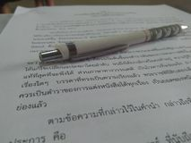 Uczyć się uczy się czytelniczych uczni thail Fotografia Stock