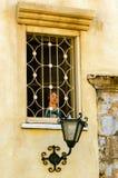 Uczy kogoś okno Obrazy Stock