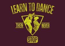 Uczy się tanczyć Zdjęcia Stock
