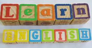 Uczy się angielszczyzny (ESL) Fotografia Royalty Free