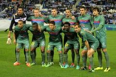 UD Levante team posing Royalty Free Stock Image