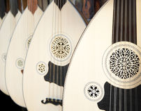Ud, a Turkish instrument Stock Photography
