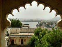 Udaipur市宫殿 图库摄影