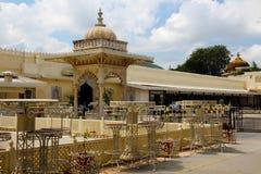 Udaipur市宫殿 库存照片