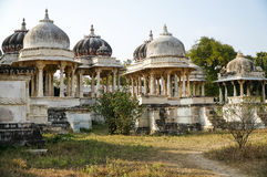 Udaipur cenotaphs Stock Images