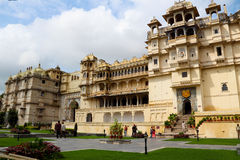 Udaipur City Palace. Built in 17 to 18 century, built by the granite and marble, which contains many palaces, museums and gardens Royalty Free Stock Photography