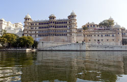 Udaipur city palace Royalty Free Stock Photos