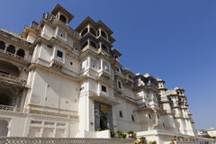 Udaipur city palace Royalty Free Stock Photos