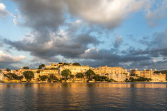 Udaipur city palace. In Rajasthan, India Royalty Free Stock Image