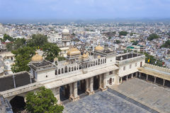 Udaipur City Palace. In Rajasthan is one of the major tourist attractions in India Royalty Free Stock Image
