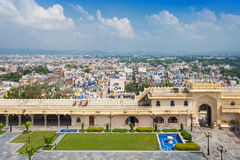 Udaipur City Palace. In Rajasthan is one of the major tourist attractions in India Royalty Free Stock Images