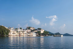 Udaipur City Palace. In Rajasthan is one of the major tourist attractions in India Stock Photo