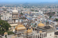 Udaipur City Palace. In Rajasthan is one of the major tourist attractions in India Stock Photos