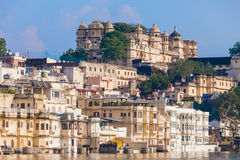 Udaipur City Palace. In Rajasthan is one of the major tourist attractions in India Stock Images